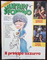 GUERIN SPORTIVO N. 27 DEL 1984 MARADONA NAPOLI COPPA ITALIA ROMA