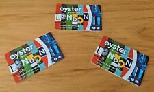 More details for oyster visitor cards x3 ~ excellent condition ~ rare.