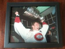 Kirk Muller Signed Photo Holding Stanley Cup