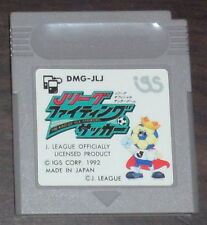 Nintendo Game Boy. J League Fighting Soccer The King of Ace Striker (JP) DMG-JLJ