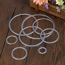 Circle Metal Cutting Dies Stencils Embossing Card Scrapbooking Album Photo Cards