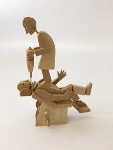 Timberkits Demon Dentist Working Wooden Automata Model Kit