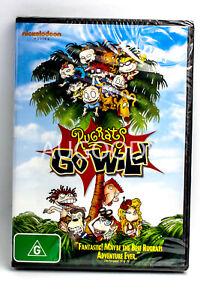 Rugrats Go Wilds -Rare DVD Aus Stock -Kids & Family New Region 4