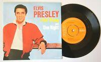 "Near Mint Elvis Presley ONE NIGHT / I GOT STUNG RCA 2696 7"" VINYL 45"