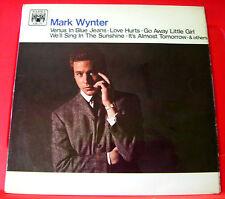 Mark Wynter Self-Titled LP UK ORIG 1966 Marble Arch Venus In Blue Jeans++ VINYL