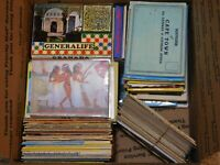 Huge Lot Foreign Postcard Folders & Postcards, 251 Pcs, Overstock Clearance
