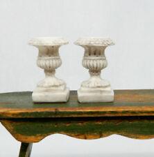 Vintage Planter Urns Dollhouse Miniature 1/4 1:48 Scale