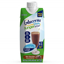 Glucerna Hunger Smart Meal Size, Diabetes Nutritional Shake, Meal Replacement To