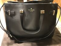 Kate Spade Leather and Suede Tote