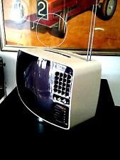 """💎TELEVISORE TV BRIONVEGA VOLANS 17"""" ANNI 1969/70 SPACE LUNAR VINTAGE DESIGN 💎"""