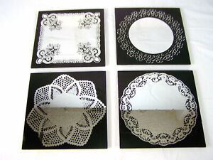 4 Piece Wall Hanging Mirror Set For Home or Office