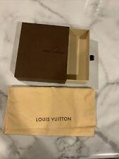 Empty Louis Vuitton Wallet Coin Purse Gift Box 5x6x1.5 w/ Dust Bag