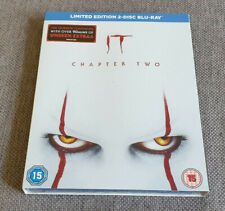 Blu Ray IT Chapter Two Limited Edition 2 Disc Set with Sleeve