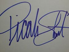 Picabo Street Olympic Gold Medalist Skiing Autograph Signature Signed Card