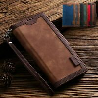 For Samsung Galaxy A51 5G A71 A11 Note 20 Ultra Case Leather Wallet Phone Cover
