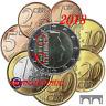Série 1 Cent à 2 Euro Luxembourg 2018 - Série BU avec Poinçon Pont de Selve