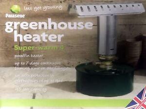 GENUINE PARASENE super-warm 4 paraffin heater GREENHOUSE HEATER frost protection