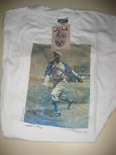 ~Vintage (1990) SATCHEL PAIGE K.C. Monarchs T-Shirt NEW WITH TAGS Size: Large~