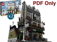 Lego Custom Modular Parisian Restaurant Extended 10243 Alt INSTRUCTIONS PDF Only