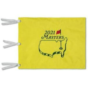 New 2021 Masters Tournament Embroidered Pin Flag Augusta National Golf 🔥🔥