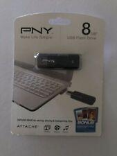 NEW PNY 8GB  Attach USB Flash Drive