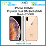 New Apple iPhone Xs Max 256GB 6.5-inch Dual SIM Unlocked - Gold - Apple Warranty