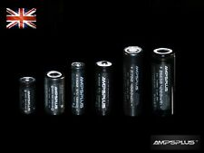 16340 18350 18500 21700 26650 Battery High Drain IMR INR 20A 30A Flat Top