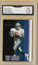 1995 Classic Troy Aikman Hallmark #HK1 Graded GMA 7.5 NM+ PROMO SAMPLE INSERT