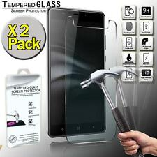 2 Pack Real Tempered Glass Screen Protector Cover For Elephone C1 Max