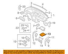 KIA OEM 07-09 Sorento Instrument Panel Dash-Center Cover 847453E500CQ