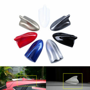 Car Auto Roof Shark Fin Antenna AM/FM Radio Signal Aerial Cover For Hyundai