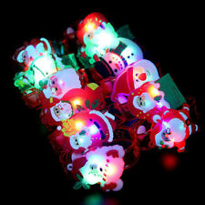 Christmas Santa Claus Light Flash Toys Wrist Hand Take Dance Party Dinner Party