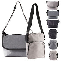 Men's Canvas Messenger Shoulder Bag Handbag Outdoor Travel Hiking Crossbody Bags