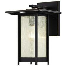 Westinghouse 6203900 Clarissa One Light Outdoor Wall Lantern Oil Rubbed Bronz.