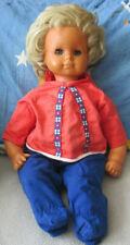 Maukeline Mmm Puppe 32 Cm. Dunkelhäutig Mit Schlafaugen.h Ca