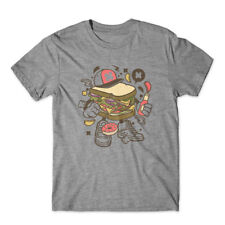 Sandwich T-Shirt 100% Cotton Premium Tee New