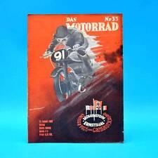 Das Motorrad | Heft 33 | 12.08.1939 | GP Schweden Großer Bergpreis Alpenfahrt