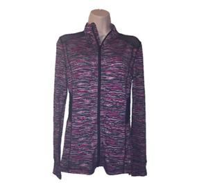 Material Girl Multi Space Dye Juniors' Mesh-Inset Lightweight Jacket, Size XXS