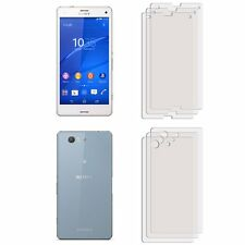 3 FRONT +3 BACK Clear LCD Screen Protector Film Foil For Sony Xperia Z3 COMPACT