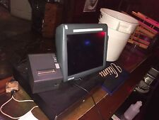 3 Micros POS E7 screen with printer and 1 server