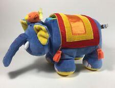 JELLYCAT Jelly Kitten ELLY BELLY Soft Book Elephant Plush Developmental Toy Rare