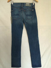 7 For All Mankind Jeans 24 x 32 Straight Leg Low Rise Stretch NWT