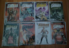 Doc Savage First Wave lot - DC with Avenger back-up feature (11 Books)