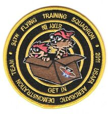 "USAF Air Force Patch:   Air Force Academy 2011 Aerobatics Demo Team - 4"""