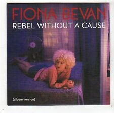 (FY164) Fiona Bevan, Rebel Without A Cause - 2014 DJ CD