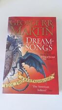 George R. R. Martin - Dreamsongs, Book 2 :A Rretrospective (Anglais)
