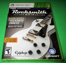 "Rocksmith -- 2014 Edition ""No Cable Included"" Version Xbox 360 *New! Sealed!"