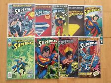 Superman Doomsday / Reign of the Supermen! / Life After Death! lot (DC Comics)