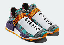 "Pharrell x adidas NMD Hu ""Afro HU"" BB9528 PHARRELL WILLIAMS SOLARHU UK12.5 EU 48"