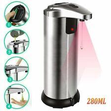 Automatic Soap Dispenser Touchless Handsfree IR Sensor Liquid Bathroom Hand Wash